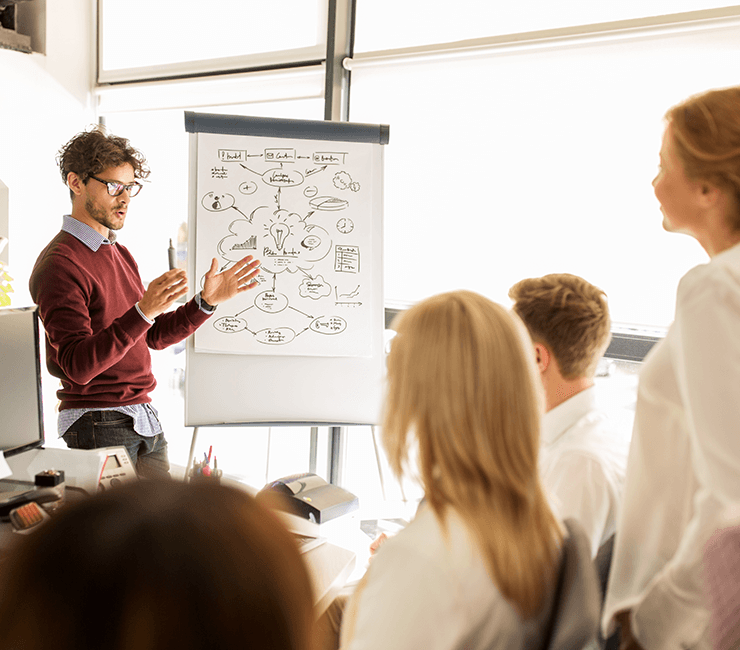 apresentação para reunião