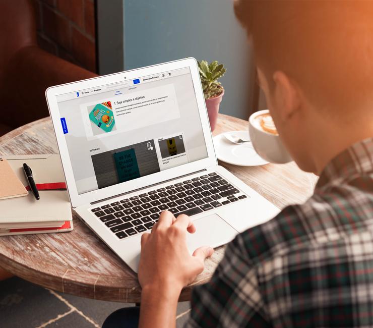 como funciona uma gráfica online
