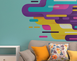 5 ideias para decoração com adesivos