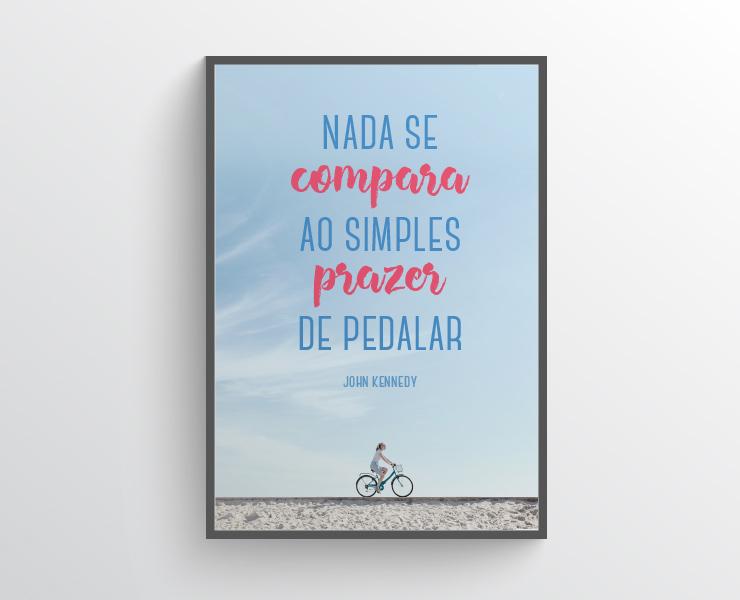 Nada se compara ao simples prazer de pedalar