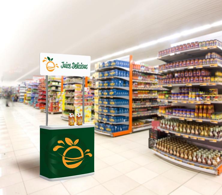 balcão PDV para supermercado