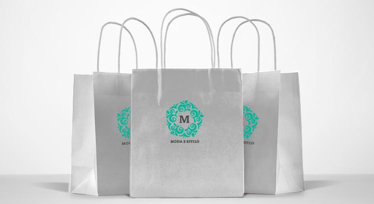 5 ideias de personalização para sacolas de papel