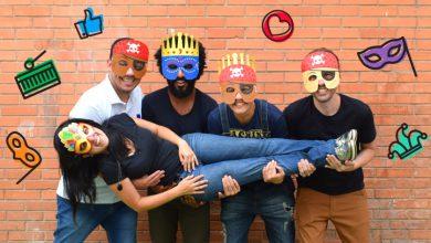 Photo of 4 modelos de máscaras para o seu carnaval