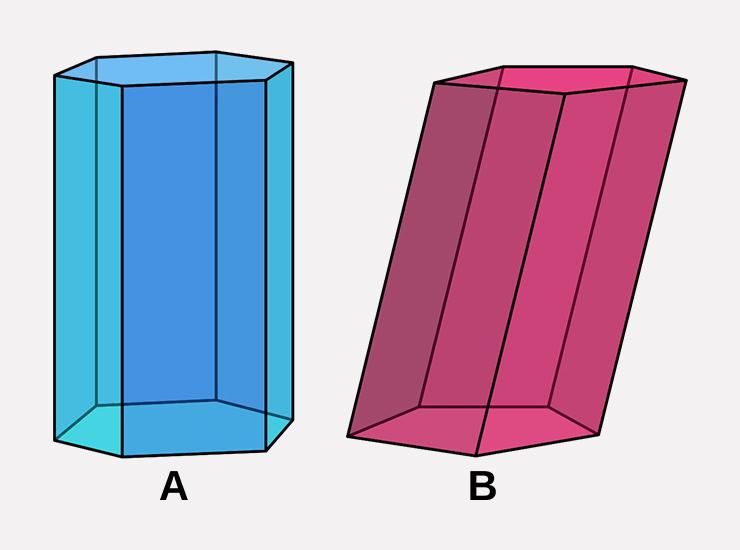 modelo prisma de mesa
