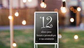 Photo of 12 ideias para baixar e personalizar seu casamento