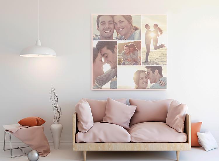 Painel de fotos para casamento: aprenda a montar um
