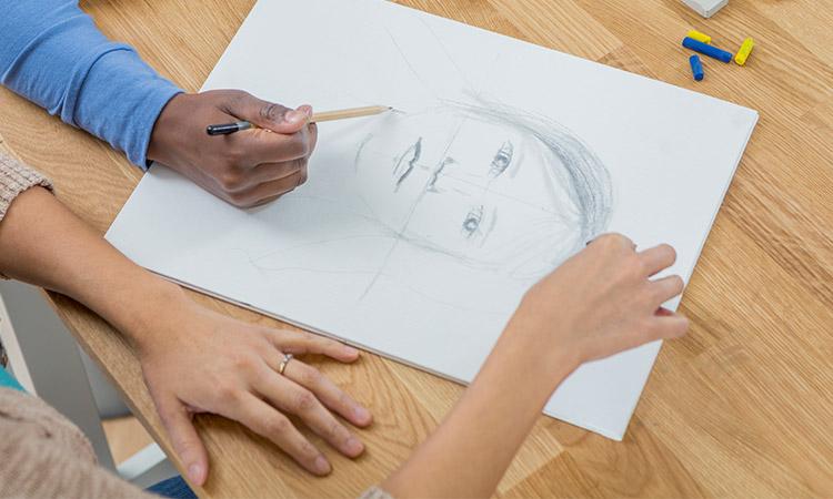 desenhar rafe