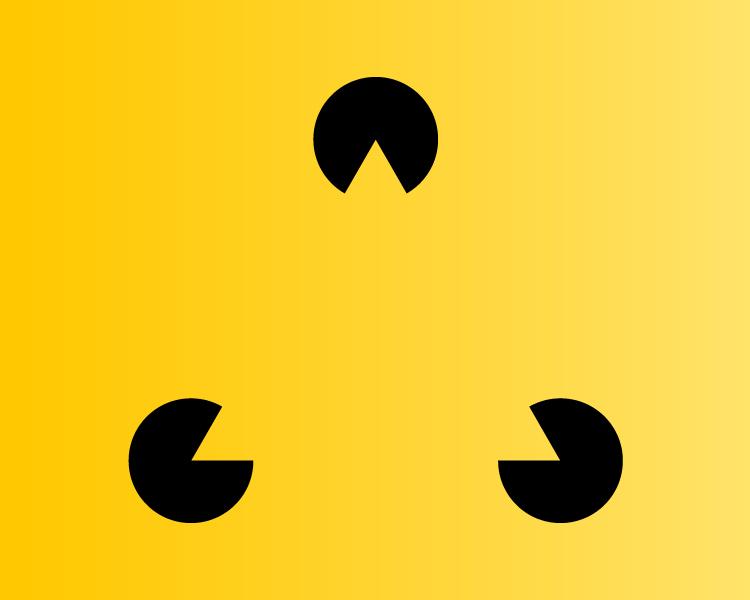 teoria de Gestalt - fechamento