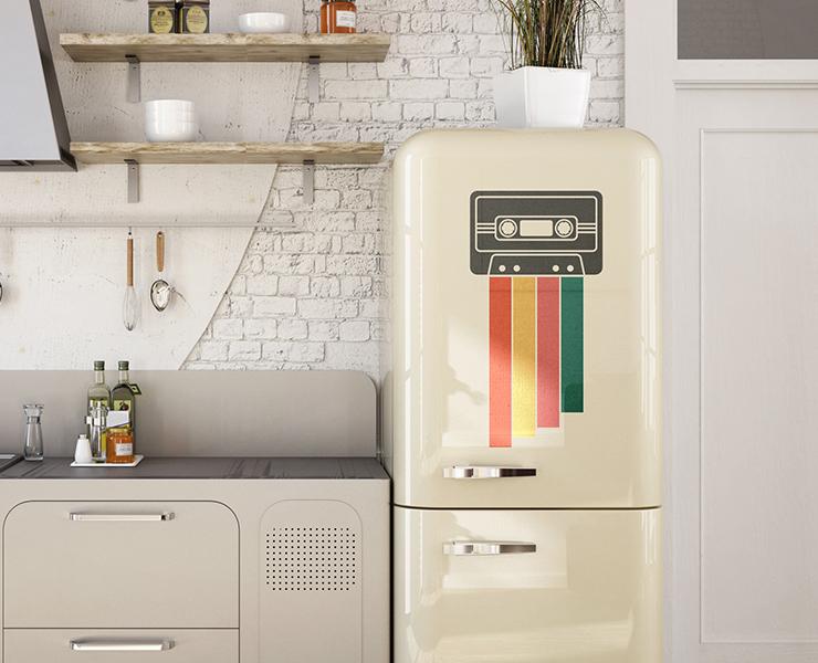 Como criar adesivos personalizados para geladeiras