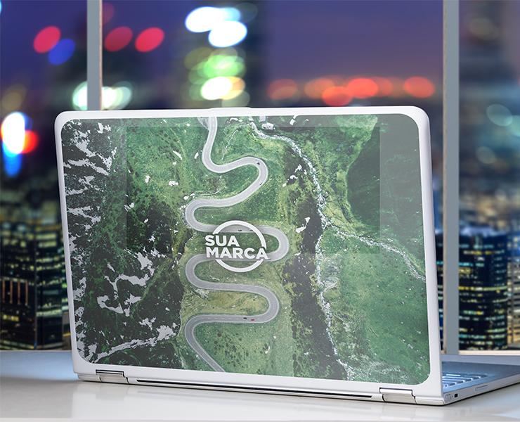 Como criar adesivos personalizados para notebooks com a sua marca