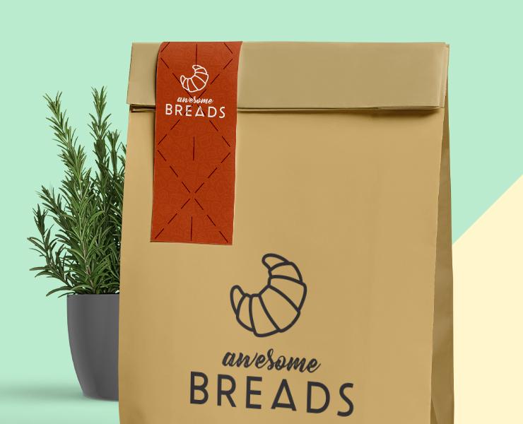 Como criar adesivos personalizados lacres adesivos para delivery de alimentos
