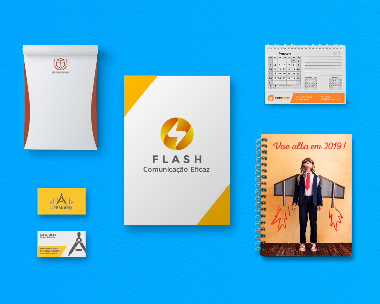 papelaria personalizada, materiais impressos para empresas