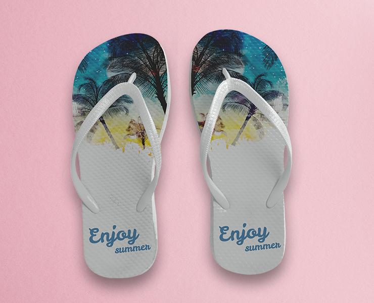 inspiração chinelo personalizado para o verão
