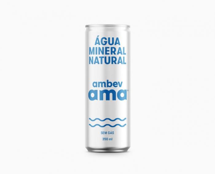 Ambev lança água em lata por meio ambiente