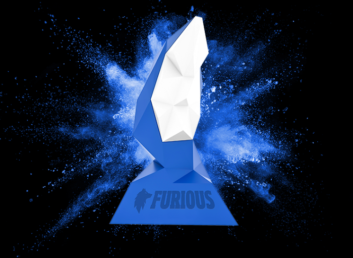 Compre seu troféu 3D personalizado na Printi