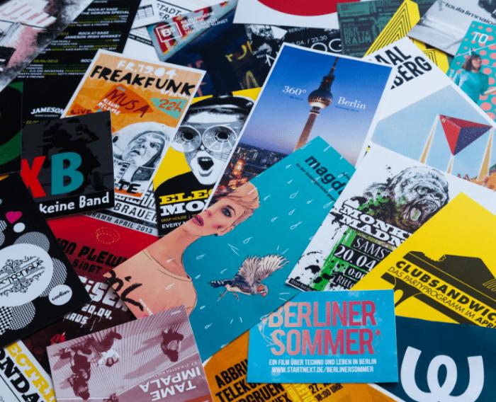 Solução no mercado: panfleto, flyer e folder