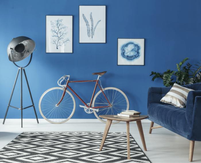 Aposte em ambientes monocromáticos na decoração em 2020