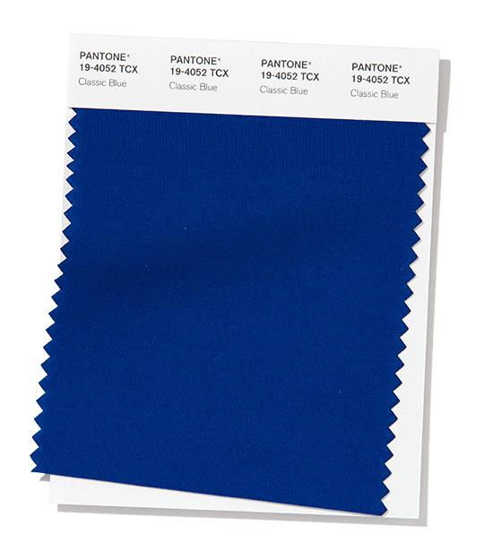 Classic blue, cor Pantone 2020