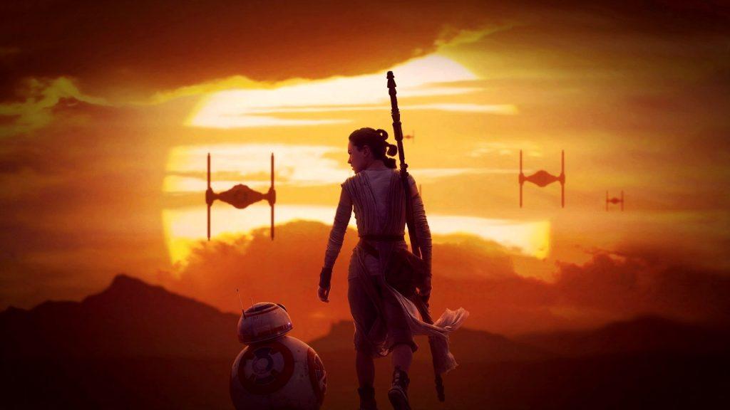 Cena do filme Star Wars: O Despertar da Força