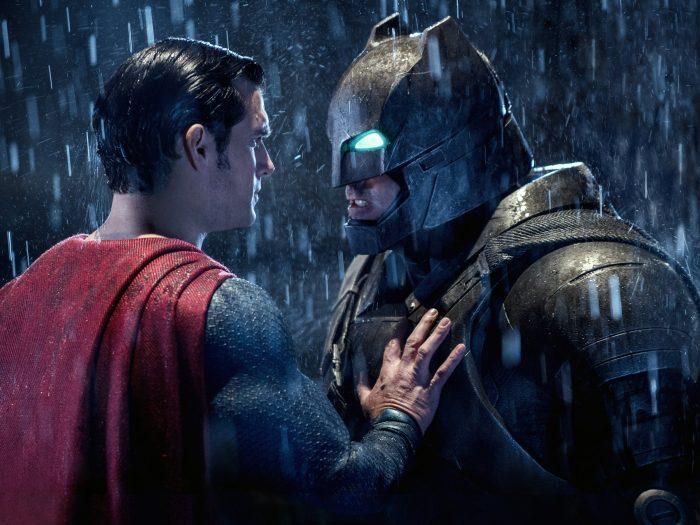 Cena do filme Batman vs Superman: A Origem da Justiça
