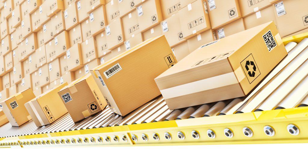 pacotes para entrega