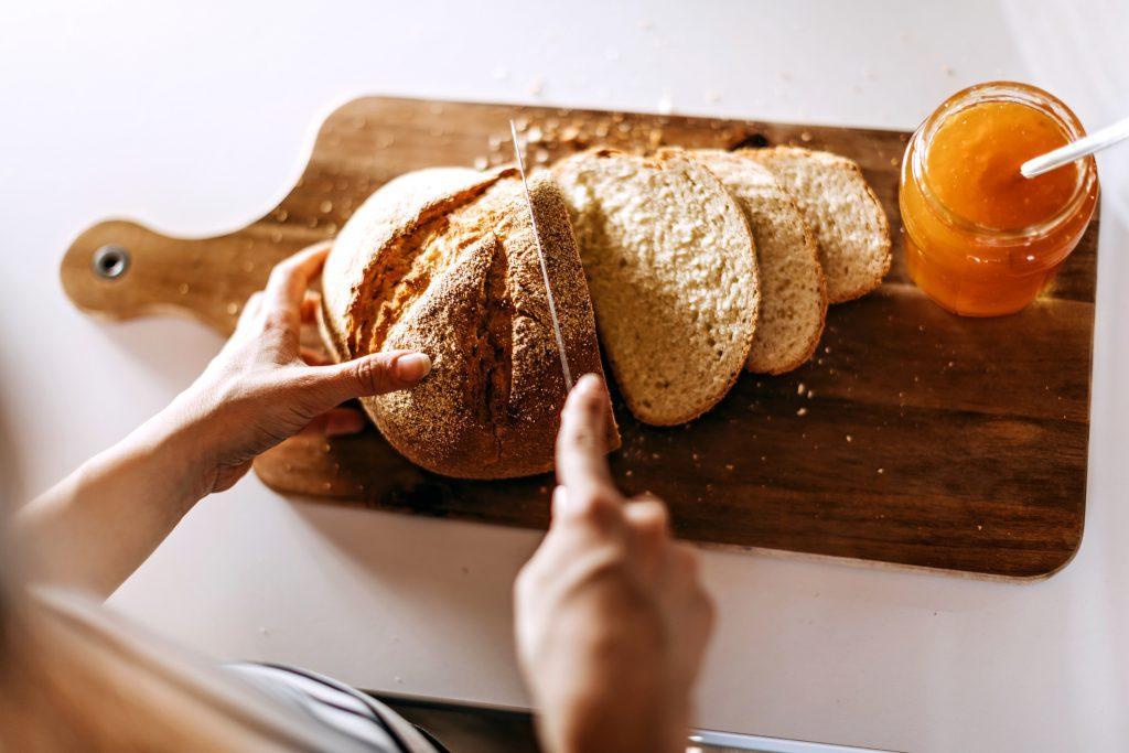 pão feito em casa