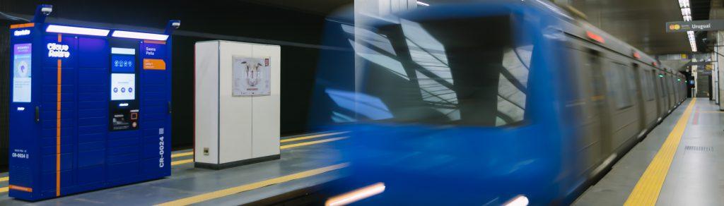 E-box no metrô