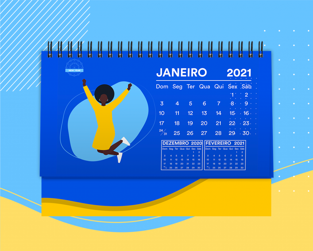 calendário 2021