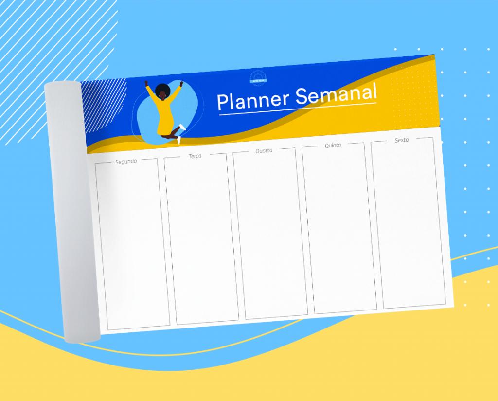 planner semanal personalizado