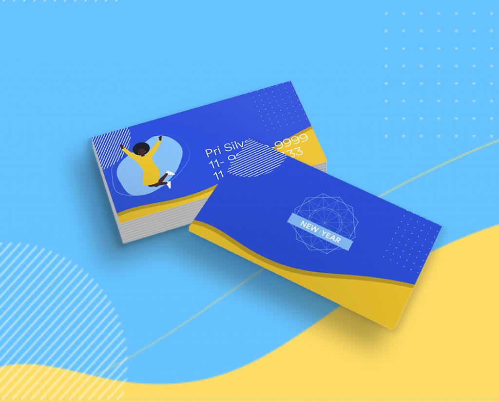 cartão de visitas 2021