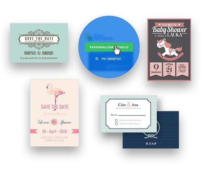 Modelo De Convite Criar Convite Online Printi