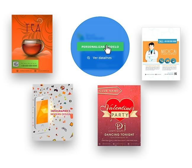 modelo de panfletos criar panfletos online printi