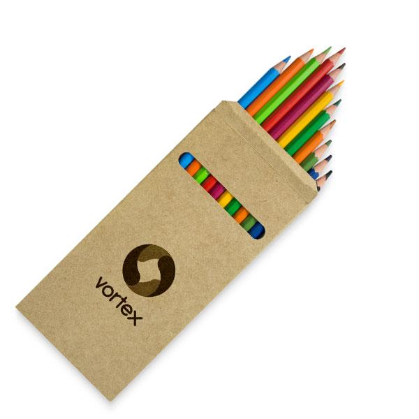 Faça Lápis de Cor personalizados online e receba em casa. Uma boa impressão a um clique de distância!