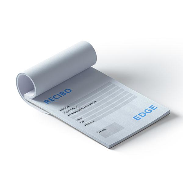 Faça Recibos personalizados online e receba em casa. Uma boa impressão a um clique de distância!